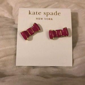 Never worn Kate spade earrings!